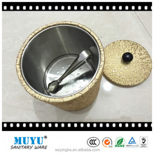 ice bucket/stainless steel champagne cooler /Double wall ice pail