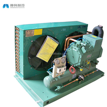 Outdoor semi-hermetic piston compressor cold room refrigeration unit