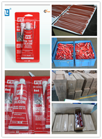 red RTV silicone gasket maker for high quality low price 343 working temperature and fast curing time