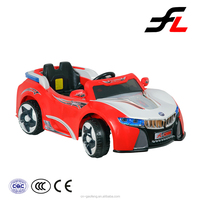2015 new toys for kids zhejiang oem remote control music child car battery