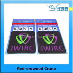 Wholesale high quality adhesive microfiber screen cleaner