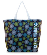 Made in the USA The Re-User EcoSpun tote bag. Constructed out of recycled plastic bottles. Comes with your full color design.