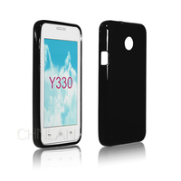 Hot Products Plain Style Gel TPU Case Cover For Huawei Ascend Y330 Soft Back Cover