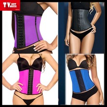 European Sexy Latex Rubber waist training corset, waist trainer corset fajas, girdle for waist training