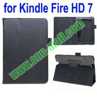 New Arrival Leather Case Cover for Kindle Fire HD 7