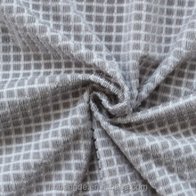 bonded plaid polyester fabric for sofa, car seat cover,curtain