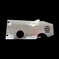 Silver 70 110cc 125cc 140cc 150cc PIT PRO TRAIL DIRT BIKE yinxiang Engine Alloy Dash Plate Guard