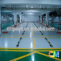 two component waterborne Phenolic Resin Anti-Corrosion polyurethane Floor Paint