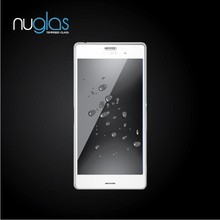Free Sample!0.33mm thickness anti uv ultra clear tempered glass screen protector for Sony Z4 OEM/ODM