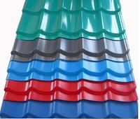 coated steel tile /building material /metal roofing price