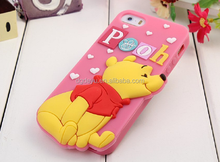 silicone 3D Sublimation Phone Case for iPhone6/ sublimation bumper cases/sublimation silicone cases