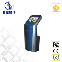 Indoor Interactive Free Standing Android Touch Screen Kiosk