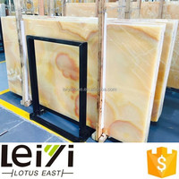 Lotus East Pineapple onyx yellow floor tile price
