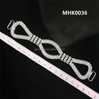High quality customized cross jewelry connector for swimwear accessories MHK0036