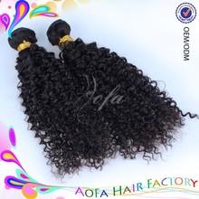 Grade 7a virgin hair weft, no dry human hair weaving mongolian kinky curly hair weave