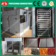 Fully stainless steel industrial hot air tray fruit and vegetable dehydrator