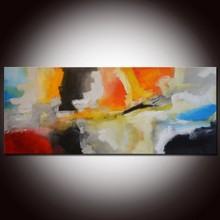 Decorative abstract oil painting for living room wholesale