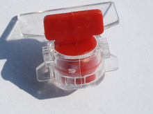 Laser print bar code plastic wire meter seal hot sale
