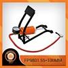 Protable foot bicycle air pump with pressure gauge