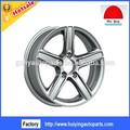 la rueda de aleación de cromo de aleación de llanta de la rueda para todos los coches y camiones