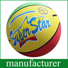 Cheap Hot sale Rubber Basketball Size 7 Promotional Ball