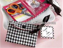 black and white handbag package sewing kit promotion gifts