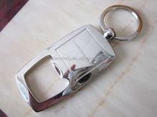 China Retractable key chain beer bottle opener