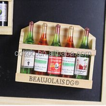 New 2015 Wine Bottle Fridge Magnet Best Acrylic Refrigerator Magnet for Home Decoration