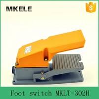 MKLT-302H high efficiency 380VAC 220VDC 50-60Hz wireless 3pdt foot switch with pedal,toggle electric remote power switches