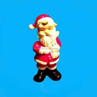 charming ceramic santa claus