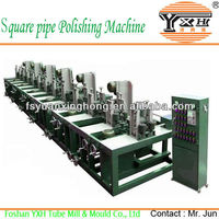 Rectangle Alloy Pipe Polishing Device/Line