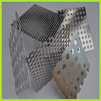 Perforated Metal Mesh / Stainless Steel Perforated Sheet / Aluminium Hole Punching Sheets