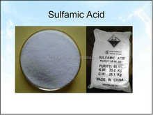 When compared to most of the common strong mineral acids, sulfamic acid has desirable water descaling properties, low volatility