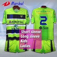 2016 New design sublimation top grade thailand quality custom soccer jersey