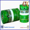 Laminated material vegetable plastic bag on roll