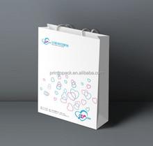 Quality unique paper bag print logo