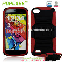 Armor cell phone case for blu life play L100A