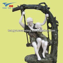 couple lover garden marble statue