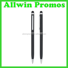 Twist Action Promotional Metal Pen With Stylus