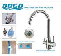 Brita Struana Chrome 3-way Dispenser taps Water Filter system faucet