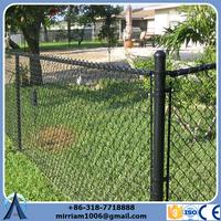 Anping 1500 mm high good quality 50*50 mm PVC chain link fence, vinyl coated chain link fence, chain link fence