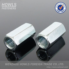 HIgh quality DIN6334 hex long nut coupling nut