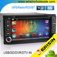 """Erisin ES9603A 7"""" Android Car DVD Player GPS WiFi 3G for RAV4 2001"""