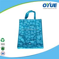 Full Printing Lovely Shopping foldable non woven tote bag