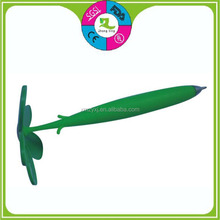 magnetic flower pen silicone rubber animal ballpoint pen for promotional gifts
