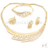 18 karat gold jewelry sets girls jewelry sets imitation jewelry sets