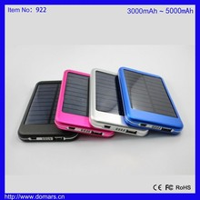 High Quality Portable Power Bank Mobile External Battery 5000mAh Travel Camping Charger