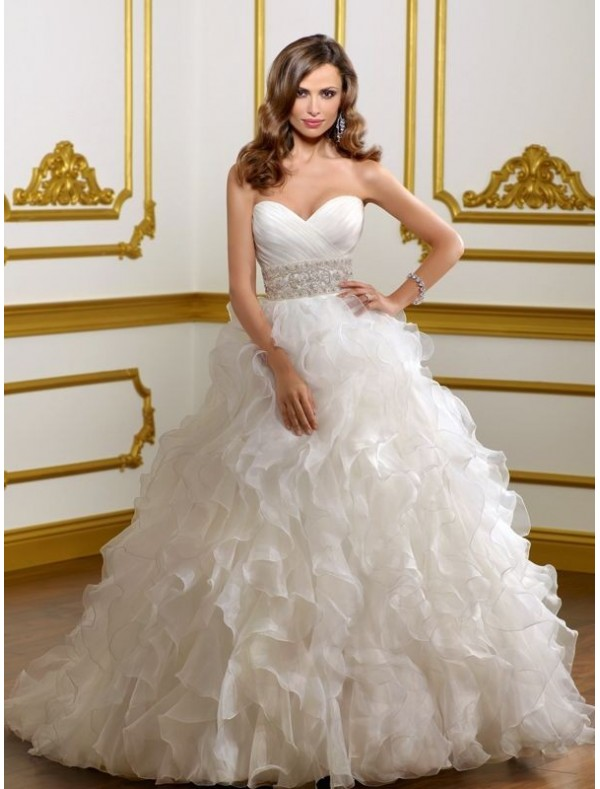 Fluffy wedding dresses shopping blog for Short fluffy wedding dresses