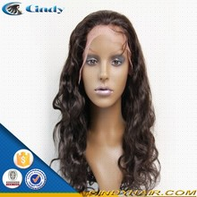 china best selling 180 density body wave full lace human hair silicone wigs