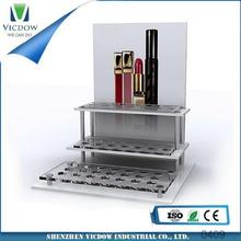 acrylic displayer multi tiers acrylic cosmetic display for cosmetic,jewelry,commodity makeup